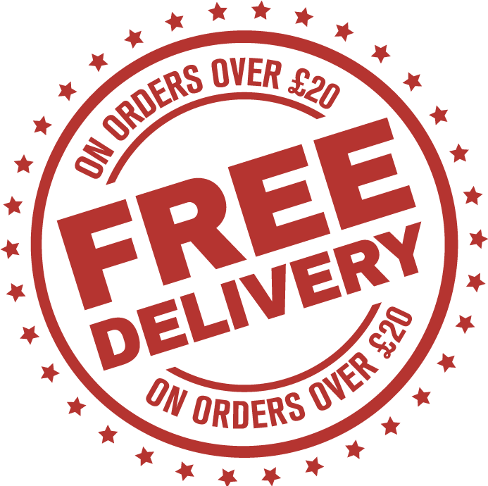 Free Delivery - on orders over £20